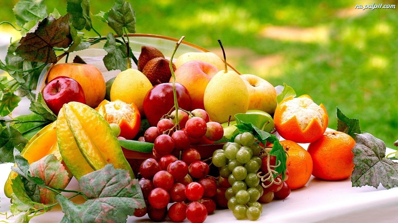 Znalezione obrazy dla zapytania owoce tapety